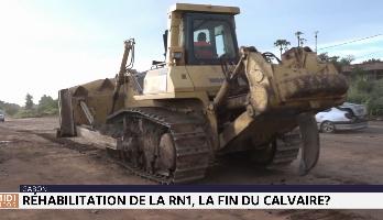 Gabon: réhabilitation de la RN1, bientôt la fin du calvaire ?
