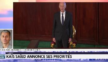Tunisie : le Président Kaïs Saïed annonce ses priorités