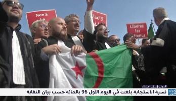 الجزائر- إضراب القضاة .. نسبة الاستجابة بلغت في اليوم الأول 96 بالمائة