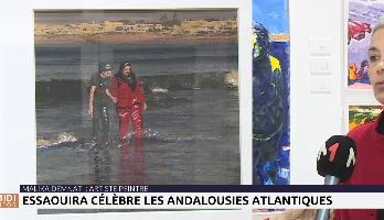 Festival des Andalousies Atlantiques : rencontre avec l'artiste-peintre Malika Demanti