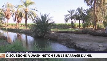 Barrage sur le Nil: l'Egypte, le Soudan et l'Ethiopie se donnent jusqu'à début 2020 pour trouver un accord