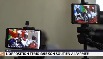 Mali: l'opposition témoigne son soutien à l'armée