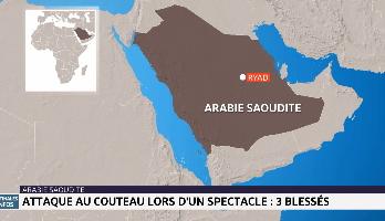 Arabie Saoudite : attaque au couteau lors d'un spectacle