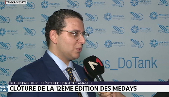 Tanger: clôture de la 12-ème édition du Forum MEDays