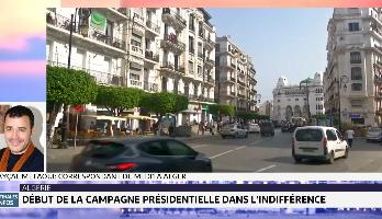 Algérie : début de la campagne présidentielle dans l'indifférence