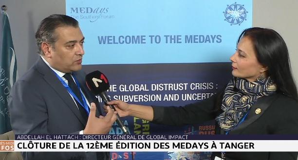 Forum Medays: entretien avec Abdellah Hattach, directeur général du Global Impact