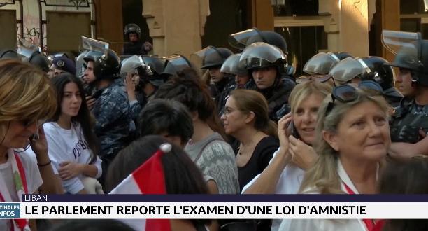 Liban: le Parlement reporte l'examen d'une loi d'amnistie