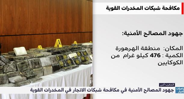 """""""زووم المغرب"""" .. جهود المصالح الأمنية في مكافحة شبكات الإتجار في المخدرات"""