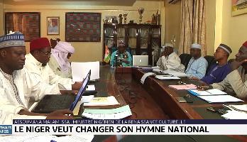 Le Niger veut changer son hymne national