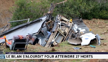 Tunisie : le bilan de l'accident du bus s'alourdit