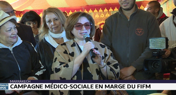 FIFM 2019 : campgane médico-sociale à Marrakech