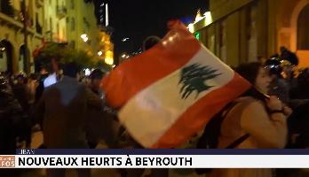 Liban: nouveaux heurts dans la capitale Beyrouth