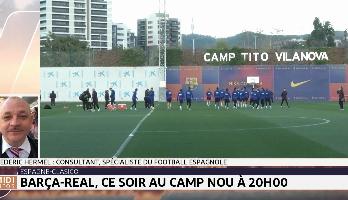 Barça-Real, ce soir au Camp Nou à 20h00 GMT