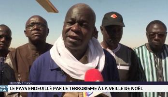 Burkina Faso: Le pays endeuillé par le terrorisme à la veille de noël
