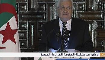 الحكومة الجزائرية الجديدة تتشكل من 39 عضوا من بينهم 7 وزراء منتدبين و4 كتاب دولة