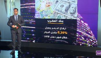 ارتفاع الدرهم مقابل الدولار و انخفاضه مقابل الأورو