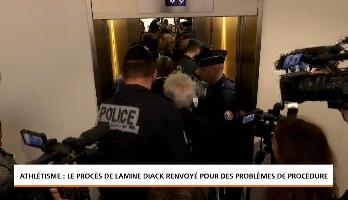 Athlétisme : le procès de Lamine Diack renvoyé pour des problèmes de procédure