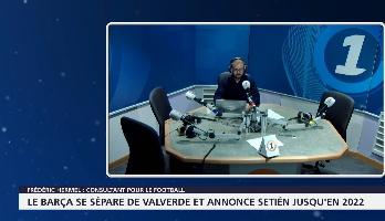 Le Barça se sépare de Valverde et annonce Setién jusqu'en 2022