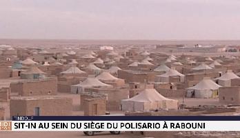 Tindouf : sit-in au siège du Polisario à Rabouni