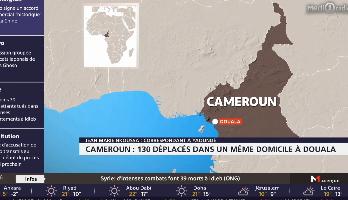 Cameroun : 130 déplacés dans un même domicile à Douala
