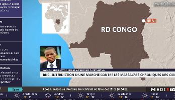 RDC : interdiction d'une marche contre les massacres chroniques des civils