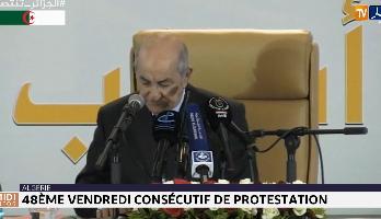 Algérie : 48ème vendredi consécutif  de protestation
