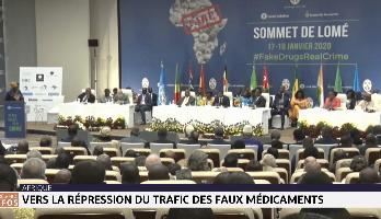 Vers la répression du trafic des faux médicaments