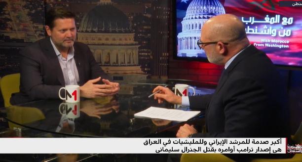مايكل بريجنت: قيادات إيران تلقت صدمة كبيرة