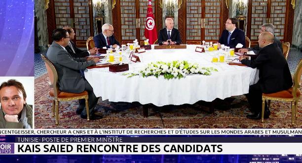 Tunisie- poste de premier ministre: Kaïs Saïed