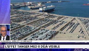 Trafic portuaire: l'effet Tanger Med II déjà visible