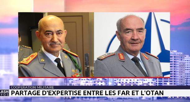 Partage d'expertise entre les FAR et l'OTAN