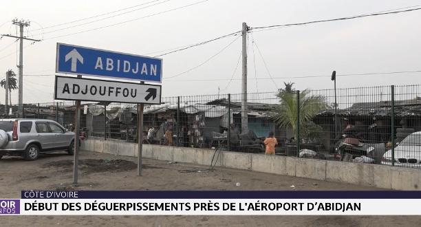 Côte d'Ivoire: début des déguerpissements de l'aéroport d'Abidjan