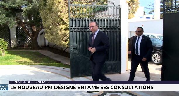 Tunisie : le nouveau premier ministre désigné entame ses consultations