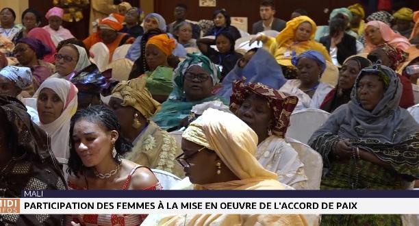 Mali: participation des femmes à la mise en oeuvre de l'accord de paix