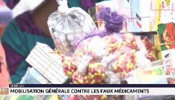 Togo: mobilisation générale contre les faux médicaments