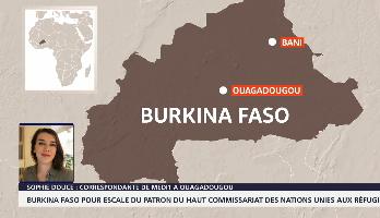 Le haut-commissaire des Nations unies pour les réfugiés fait escale au Burkina Faso
