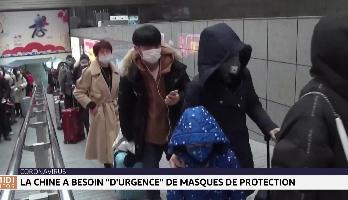 """Coronavirus : la Chine a besoin """"d'urgence"""" de masques de protection"""