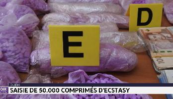 Oujda: saisie de 50.000 comprimés d'Ecstasy
