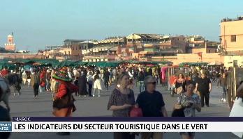 Les indicateurs du secteur touristique dans le vert