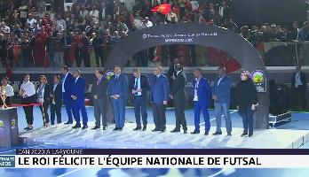 Le Roi Mohammed VI félicite l'équipe nationale de futsal pour son sacre champion de la CAN-2020
