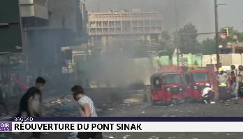 Bagdad: réouverture du pont Sinak