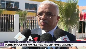 Région Souss-Massa: forte impulsion royale aux programmes de l'INDH