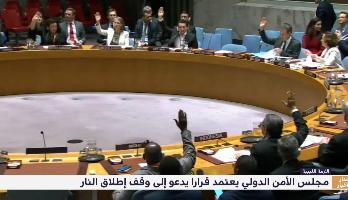 مجلس الأمن الدولي يعتمد قرارا يدعو إلى وقف إطلاق النار في ليبيا