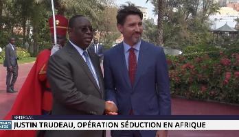 Opération séduction en Afrique de Justin Trudeau