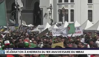 Célébration à Kherrata du 1er anniversaire du Hirak