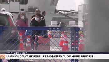 Coronavirus : fin du calvaire pour les passagers du Diamond Princess