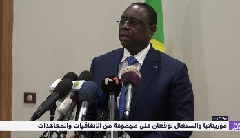 موريتانيا والسنغال توقعان على مجموعة من الاتفاقيات والمعاهدات