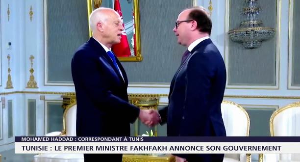 Tunisie : le premier ministre Fakhfakh annonce son gouvernement