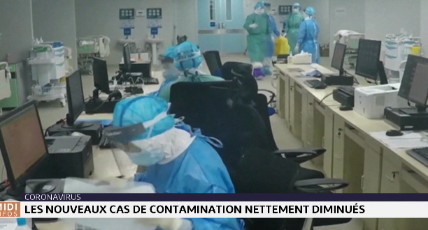 Coronavirus : les nouveaux cas de contamination nettement diminués