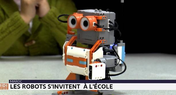 Les robots s'invitent à l'école